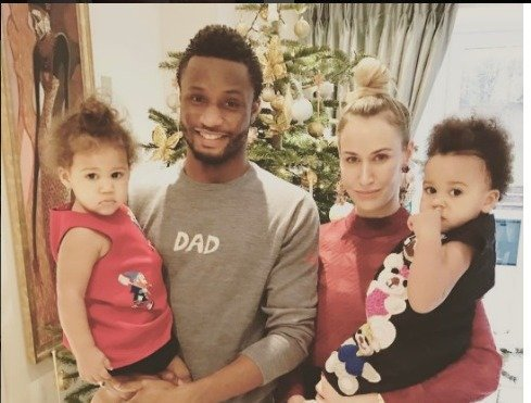 "mikel2 - ""I Want Daddy To Marry Mommy Right Now"" – Mikel Obi's Daughters Cry Out (Video)"