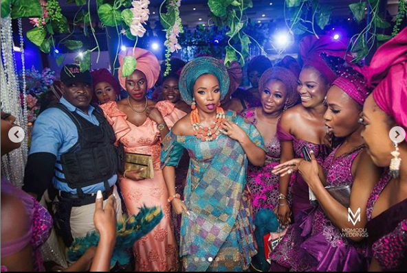 n - BamBam Shares More Photos From Her Wedding Ceremony In Ogun