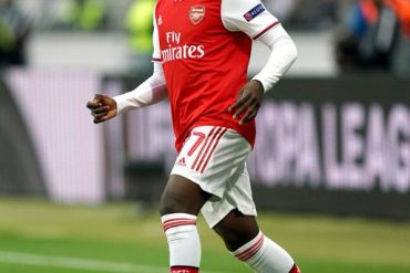 Arsenal Striker, Bukayo Saka, Sets Europa League Record For Arsenal