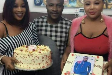 Segun Ogungbe's Two Wives Shower Praises On Their Family