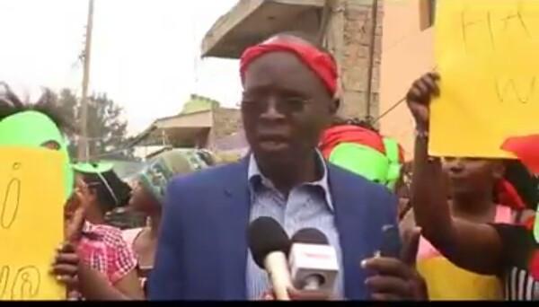 Group leader of sex workers in Kenya