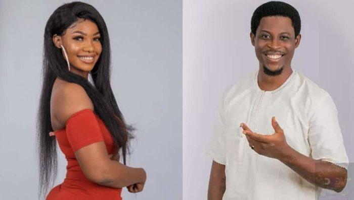 BBNaija Housemates Tacha and Seyi