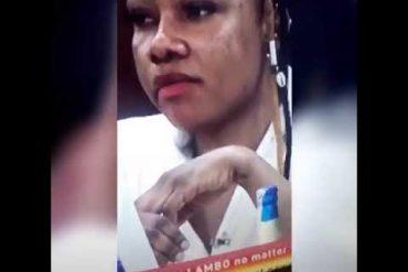 Tacha's Burnt Face, Knuckles Sets Internet Agog (Video)