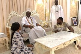 Bambam, Ooni Of Ife and Teddy A