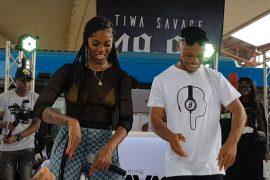 Tiwa Savage and Poco Lee