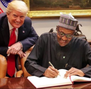President Buhari and Donald Trump