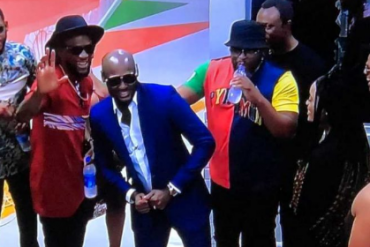 Tuface, Larry Gaga, Others Pay Surprise Visit To BBNaija Housemates (VIDEO)
