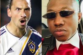 Zlatan Ibrahimovic and Zlatan Ibile
