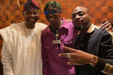 Zlatan Ibile Receives 30BG Chain From Davido; Poses With Adeleke In Atlanta (Video)