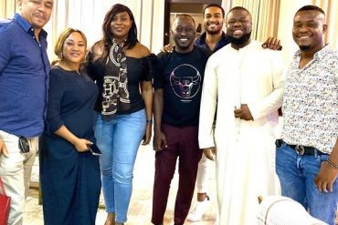 Daddy Freeze, Hushpuppi Hang Out In Dubai (Video)