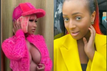 Nicki Minaj Gives DJ Cuppy A Shout Out