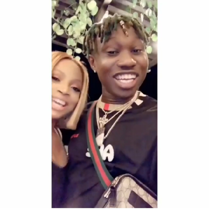 Zlatan Ibile and Toke Makinwa