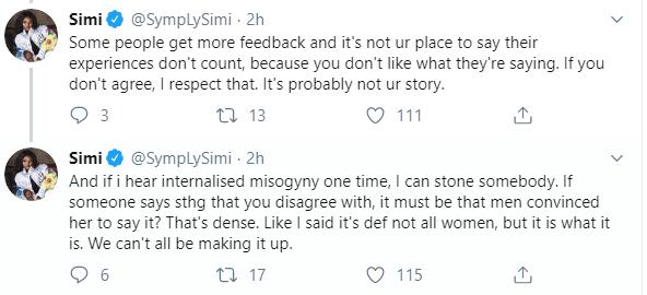 Simi Tweet