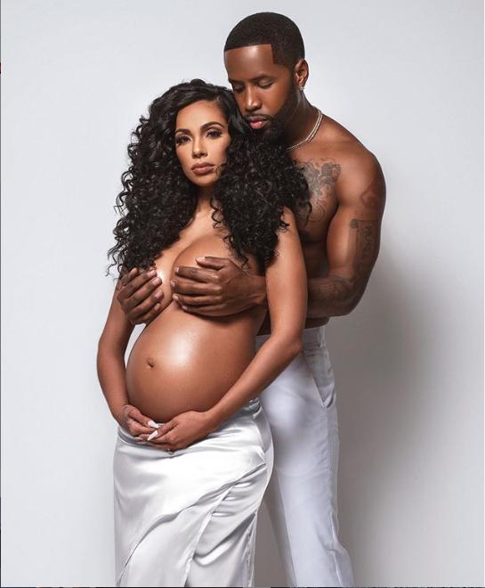 Safaree Samuels and Erica Mena