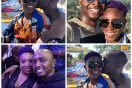 IK Osakioduwa and wife