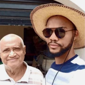 Joe and dad