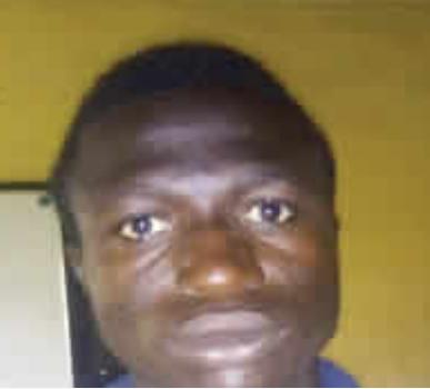 The suspect, Shamshideen Salihu