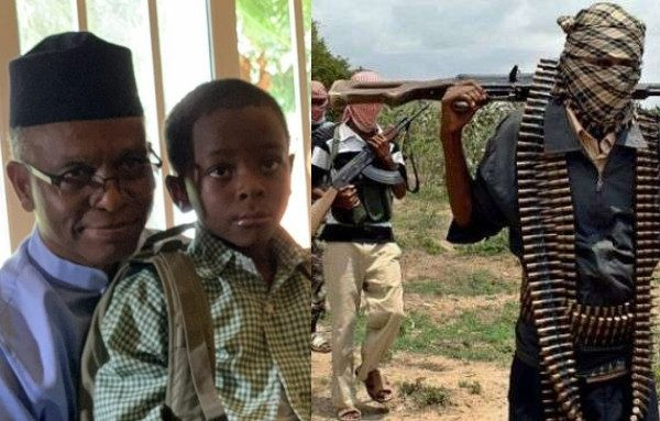 BREAKING: Bandits Are Targeting My Son, Says El-Rufai