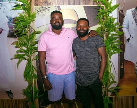 Kunle Afolayan party