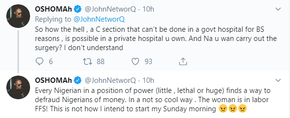John Networq tweet