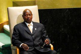 PresidentYoweri Museveni