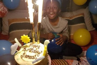 [Photos]: Odion Ighalo Celebrates His Son As He Turns 8