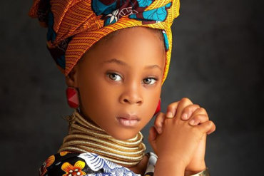 Flavour, Sandra Okagbue Celebrate Their Daughter As She Turns 5