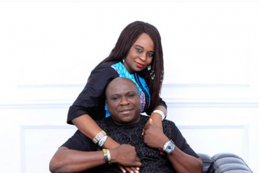 Comedian Gbenga Adeyinka, Wife Celebrate 25th Wedding Anniversary
