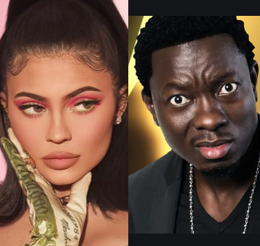 Michael Blackson and Kylie Jenner