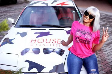 Tacha Bags First Endorsement Deal With House Of Lunettes (Photo)