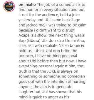 Omini's post