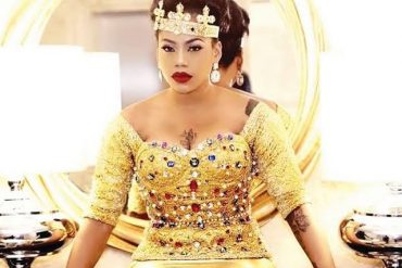 Toyin Lawani Shows Dancing Skills In New Video (Video)