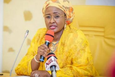 Aisha Buhari Confirms Authenticity Of Viral Video Of Her  Screaming In The Villa (Video)