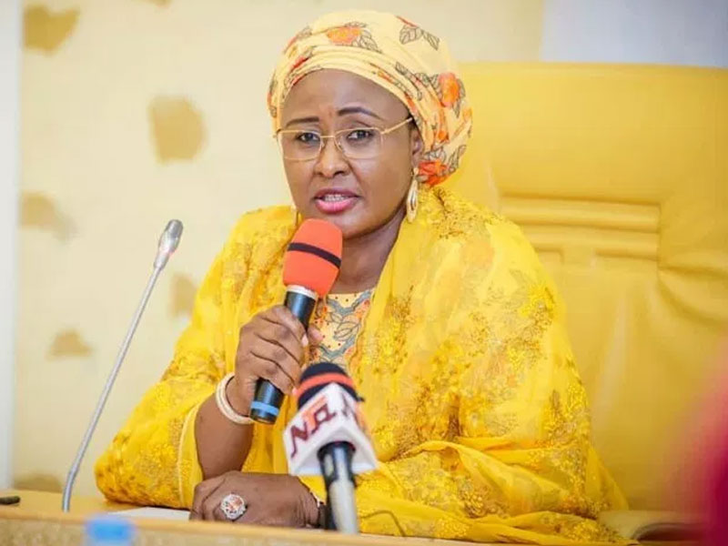 Evil People Have Taken Over Nigeria From Buhari: Aisha