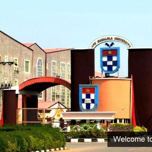 Afe Babalola University main gate