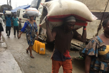 Inside The Lives Of Struggling 'Alabaru' At Mushin, Oshodi Markets In Lagos (Exclusive)