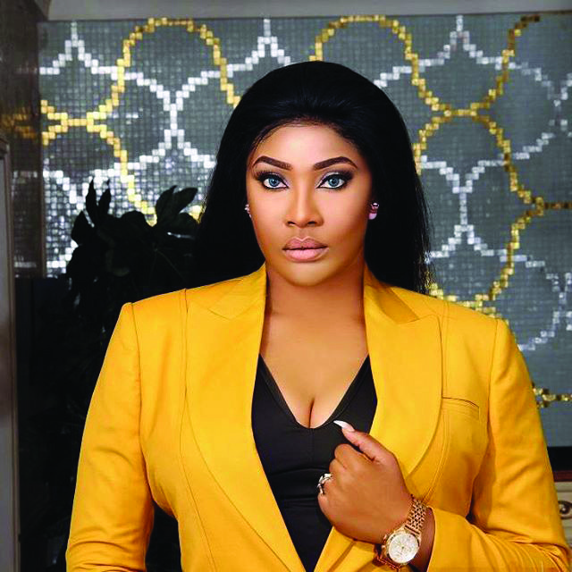 Actress Angela Okorie