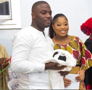 Benita Okojie, Newborn and Husband