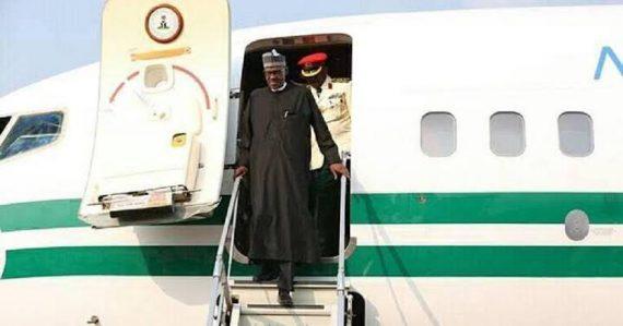 Buhar descending from plane