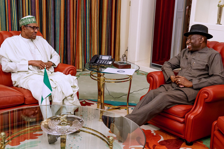 President Buhari and Jonathan