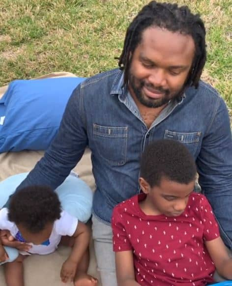 Cobhams Asuquo and his sons