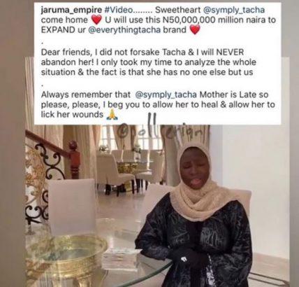 Jaruma's post