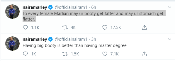 Naira Marley tweet