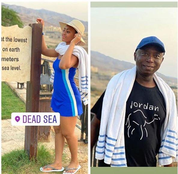 Capture 43 - Regina Daniels, Ned Nwoko Take Their Vacation To Jordan (Photo)