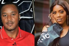 Charles Anazodo and Tiwa Savage