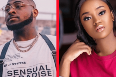 Davido Fondles Chioma's Breast While She Sleeps (Video)