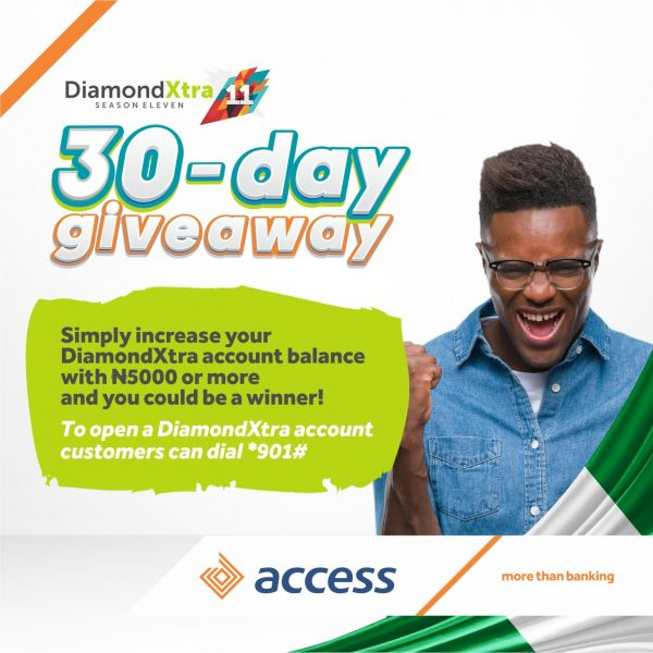 D0AAA8F5 7605 478B B0FD 42342927CB68 600x600 - Access Bank Unveils Independence Campaign, set to Splash Cash Prizes on over 30 DiamondXtra Customers Daily