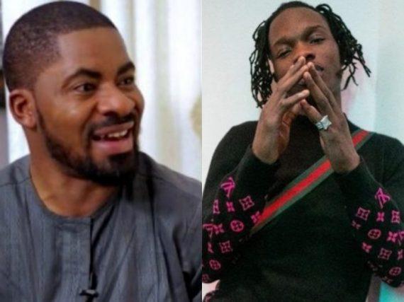 Deji Adeyanju and Naira Marley