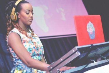 Die Hard Fan Paints DJ Cuppy's Gelato On His Chest (Photo)