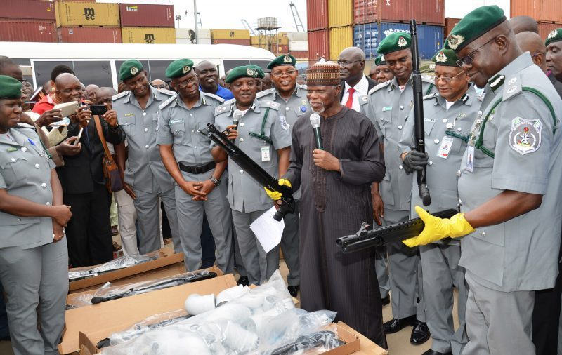 Hameed Ali and Customs Officers